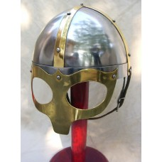 Viking Mask Deluxe Helmet Medieval Reproduction Helmets 18 Gauge