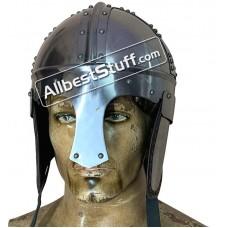 Medieval Burg Castle Roman Cavalry Helmet 18 Gauge