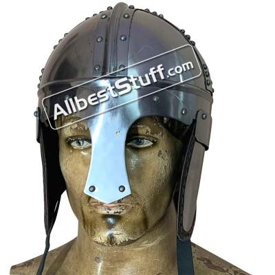 SALE! Medieval Burg Castle Roman Cavalry Helmet 18 Gauge