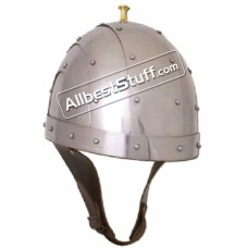 Medieval Byzantine Helmet 14 Gauge Steel Strong