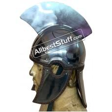 Medieval Late Roman Centurion Helmet 18 Gauge Steel Intercisa IV