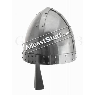 Medieval Norman Spangenhelm Strong 14 Gauge Steel
