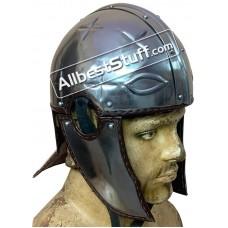 Medieval Roman Intercisa II Helmet Made of 18 Gauge Steel