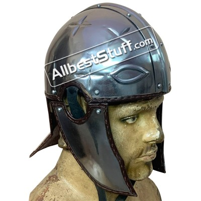 Medieval Roman Intercisa II Helmet Made of 18 Gauge Steel