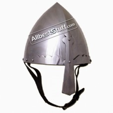 Medieval Viking Helm 16 Gauge Steel St. Wenceslas