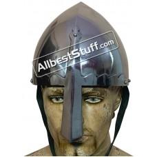 Medieval Viking Helm 16 Gauge Steel St. Wenceslas