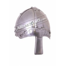 Medieval Viking Spangenhelm with Nasal 14 Gauge Steel
