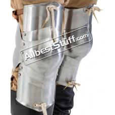 Medieval Plate Armor Knee Protection 18 Gauge Steel