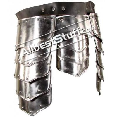 Plate Armor Upper Leg Protection for Warrior 18 Gauge