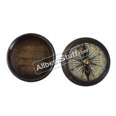 Nautical Maritime Antique Bronze Compass