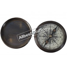 Nautical Marintime Pocket Brass Compass