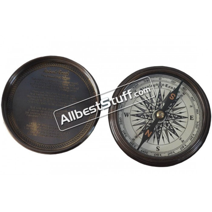 Nautical Marintime Pocket Brass Compass
